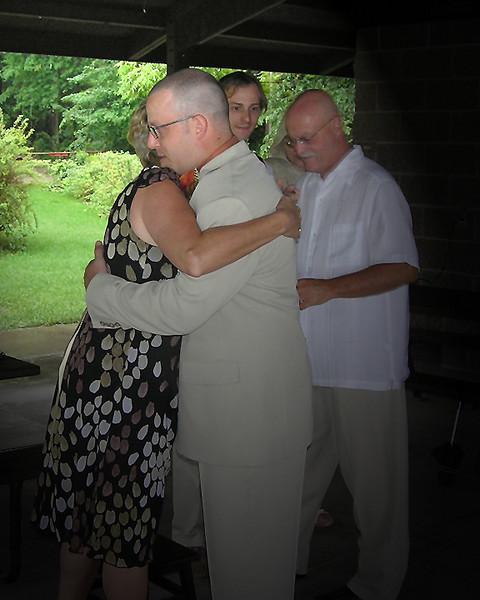 Matt & Mom Hug