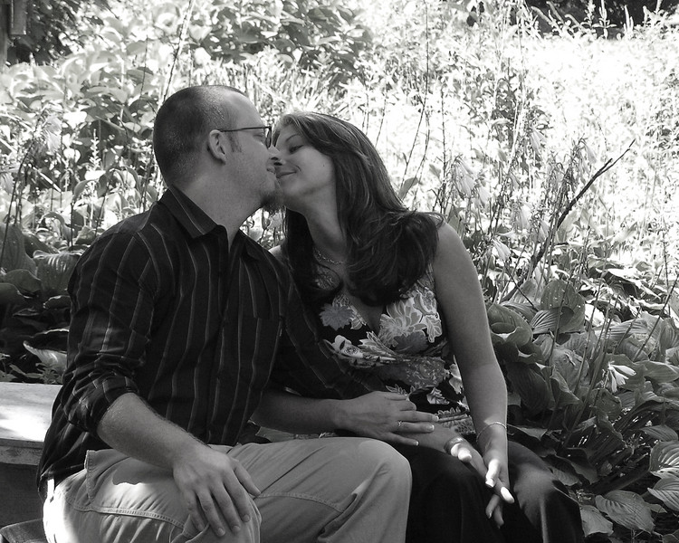 Reception- B&W Kiss