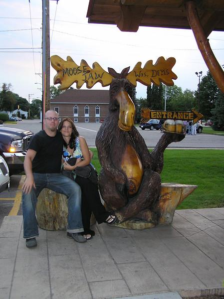 Matt, Shannon & a Moose 02