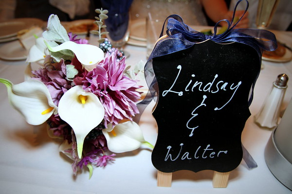 the Reception - Lindsay and Walter 11/05/16