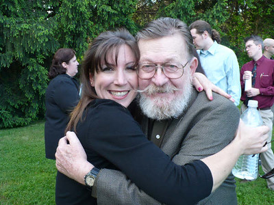 Dad & his honorary daughter.