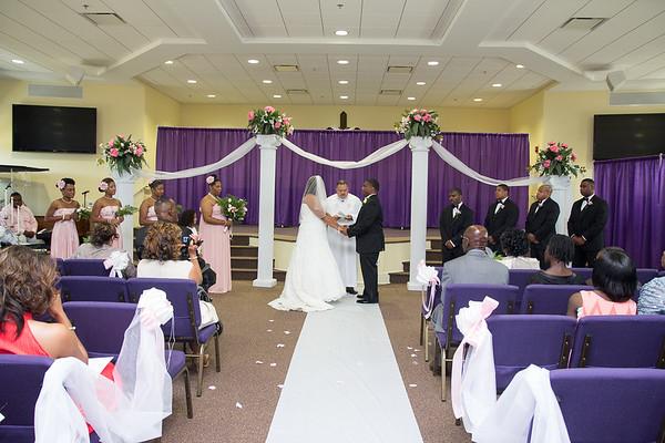 The Shaw Wedding Ceremony