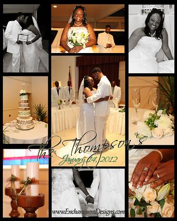 The Thompson's Wedding