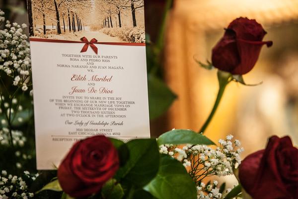 The Wedding of Edith & Johnny - 12-16-16