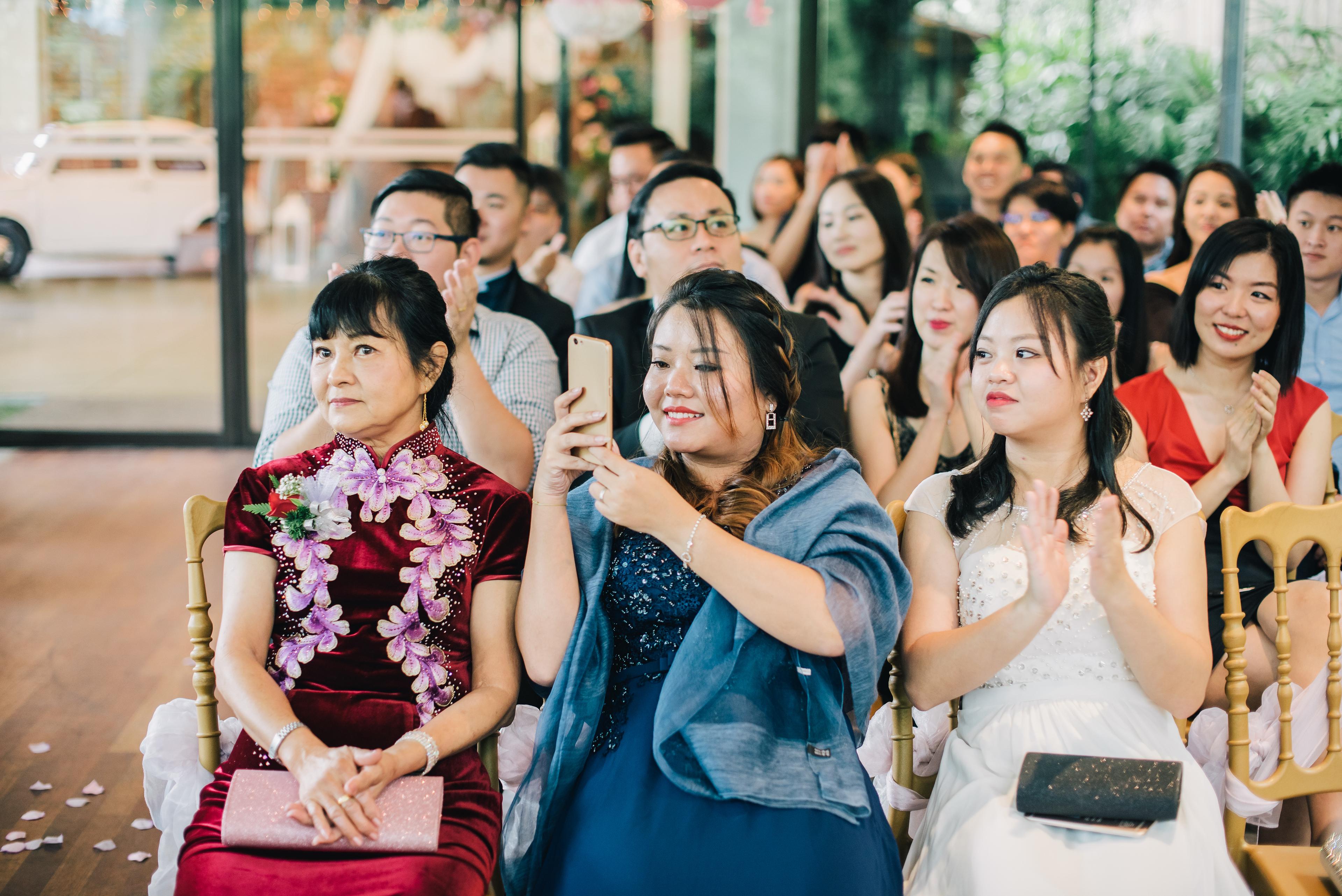 Garden Wedding ROM in Ciao Ristorante, Kuala Lumpur