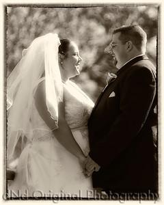 058 Tiffany & Dave Wedding Nov 11 2011 (8x10) toned framed