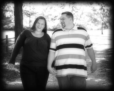 03 Tiffany & Dave Engagement Sept 2010 (8x10) b&w softfocus