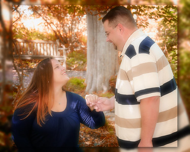 12 Tiffany & Dave Engagement Sept 2010 (10x8) softfocus indian summer