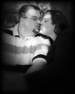 11 Tiffany & Dave Engagement Sept 2010 (8x10) softfocus bokeh b&w