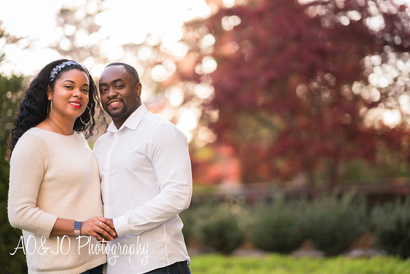 Tiffany & Alex's Engagement Session :: Duke Chapel :: AO&JO Photography (Raleigh Wedding Photographer)
