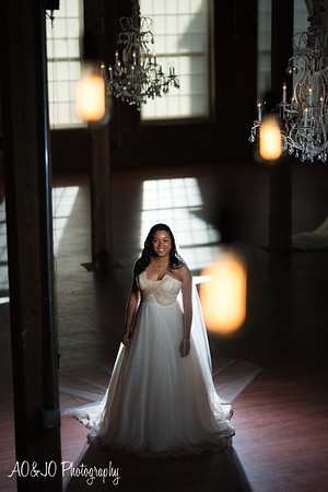 Tiffany's Bridal Session (Cloth Mill)