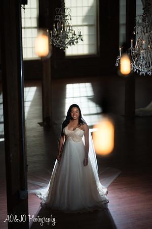 Tiffany's Bridal Session (Cloth Mill)