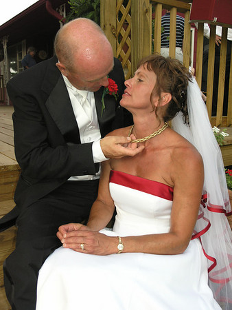 Tina & Tron tie the knot 7.07.07