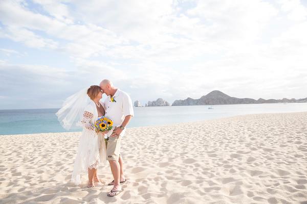 Tina and Mark Cabo Wedding