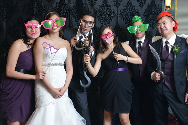 Tinnie & David's Wedding Photo Booth