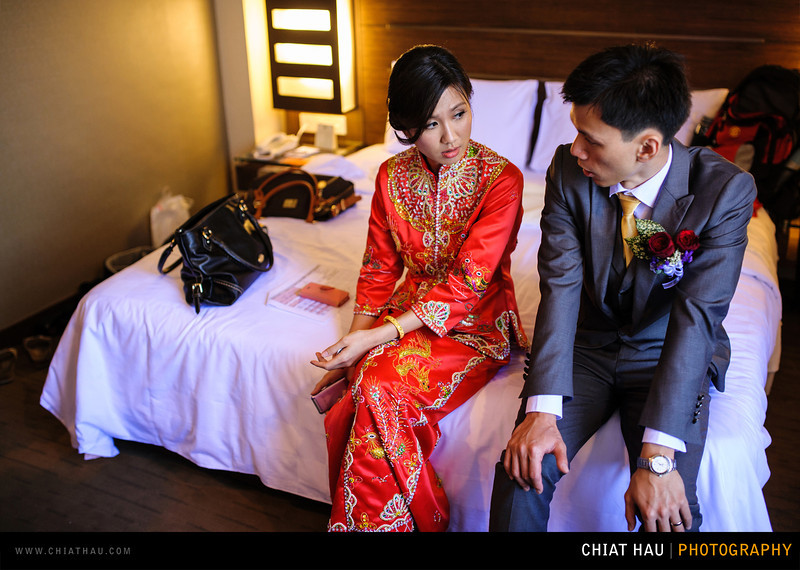 Wedding Photography by Chiat Hau Photography(Tiong Sheng + Mei Yin . Wedding Banquet at Cititel Hotel Penang)
