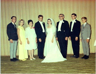 Noreen & Tom's wedding - 9/14/1968