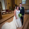 "The Bride and Groom at St. Mary's Church  <I><font size=1 color=""#2180de"">© Copyright m2 Photography - Michael J. Mikkelson 2009. All Rights Reserved. Images can not be used without permission.</font></I>"