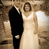 """The Bride and Groom at Rotary Gardens  <I><font size=1 color=""""#2180de"""">© Copyright m2 Photography - Michael J. Mikkelson 2009. All Rights Reserved. Images can not be used without permission.</font></I>"""