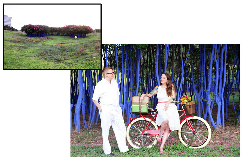 Engagement Session with Chris and Stormy @ Blue Trees by Memorial Drive.