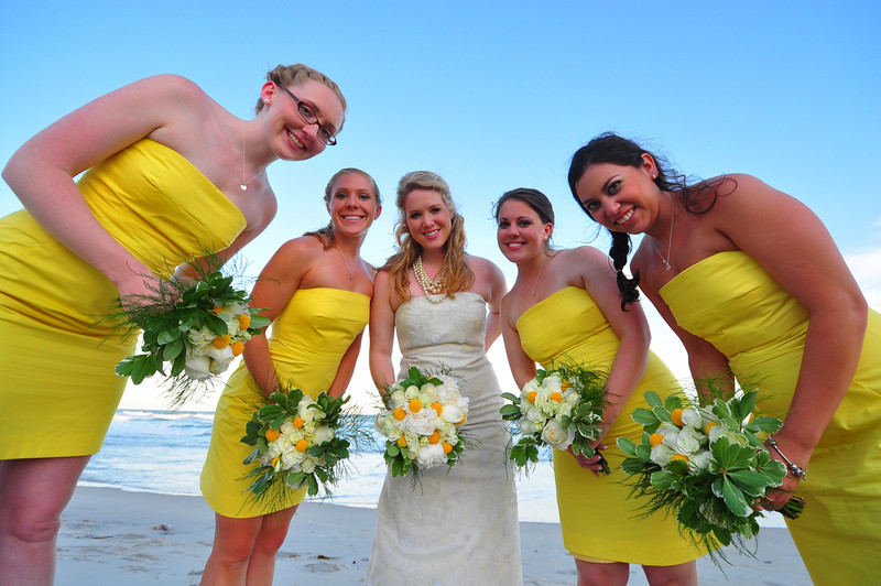 Top Sail Beach, North Carolina is the perfect place to get married.