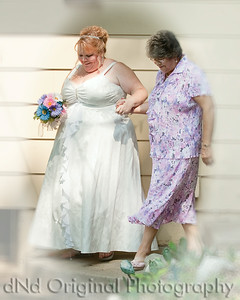 021 Tracy's Wedding July 2014 - Tracy & Mother