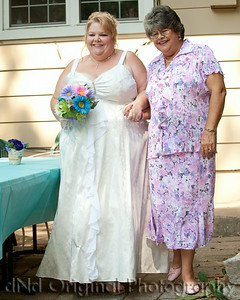 022 Tracy's Wedding July 2014 - Tracy & Mother