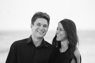 St Pete Beach Treasure Island Couples Engagement Portraits by Kristen Sloan Photography