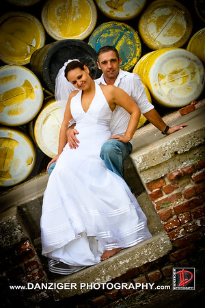 Michelle and Randy Trash The Dress 08-15-10