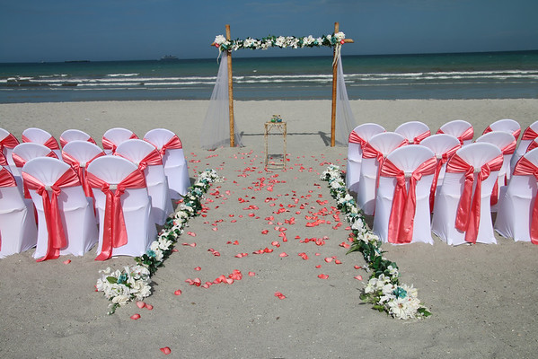 Tricia and John's wedding on Cocoa Beach.