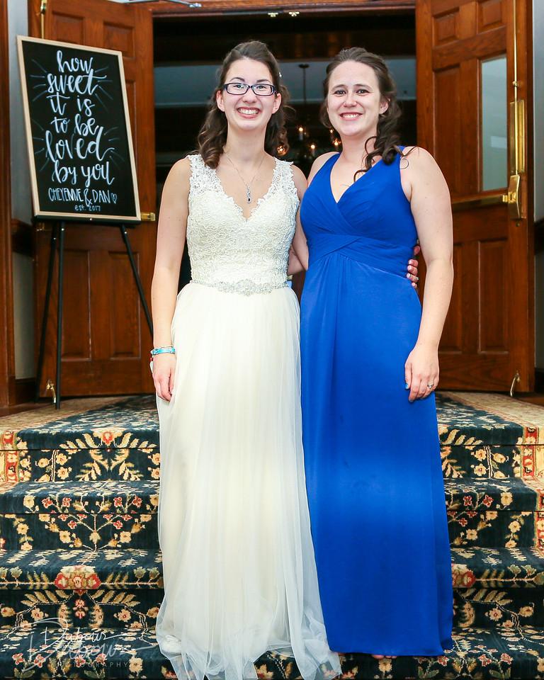 Young Wedding Reception