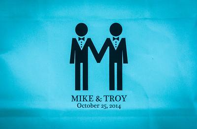 Troy and Michael Wedding - Reception