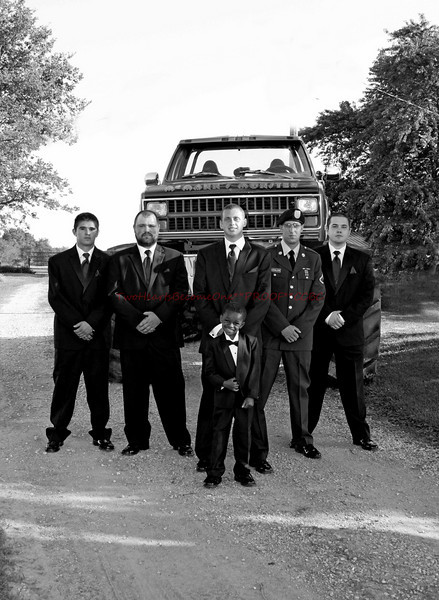 Ford Wedding 024 e bw
