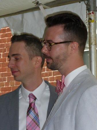 USA, Belleville, IL, Michael & Scott (2015)