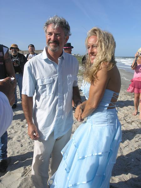 Tim & Dawn - Myrtle Beach Bike Week Wedding