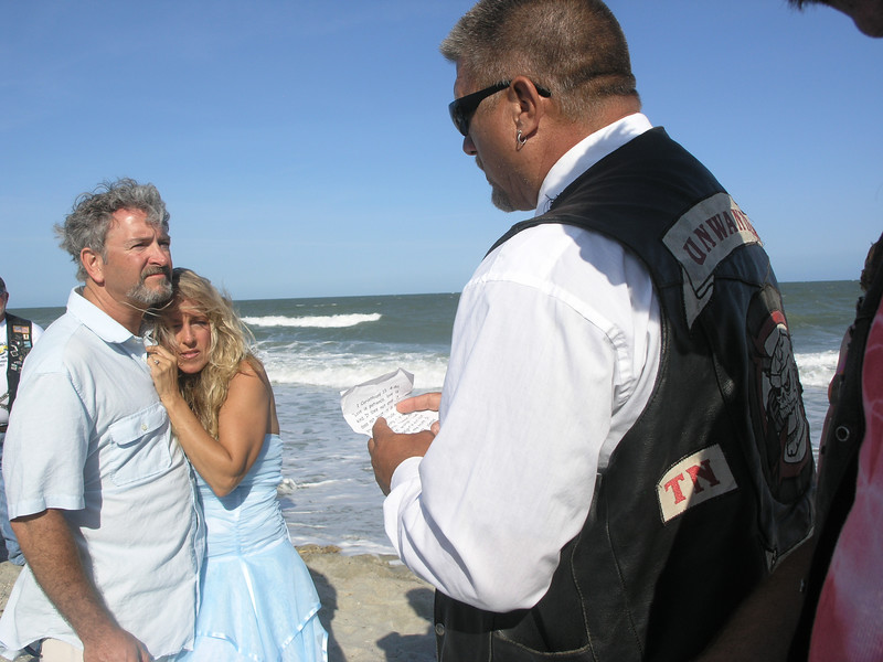 Tim & Dawn - Myrtle Beach Bike Week Wedding