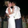 The kiss during the first dance