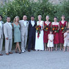 THe married couple, Grooms Men, and Bridesmaids.