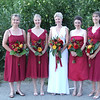 Bride and Brides Maids.