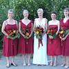 Bride and Brides Maids.