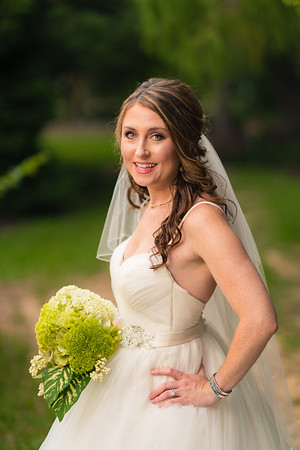 Valaree's Bridal Session :: JC Raulston Arboretum :: AO&JO Photography