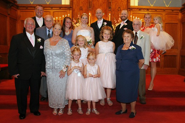 VanDamme Wedding - Posed photos