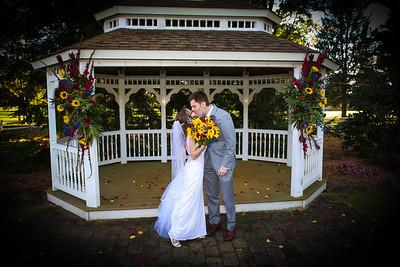 Formal Wedding Photographs for Autumn and Derek Luyben
