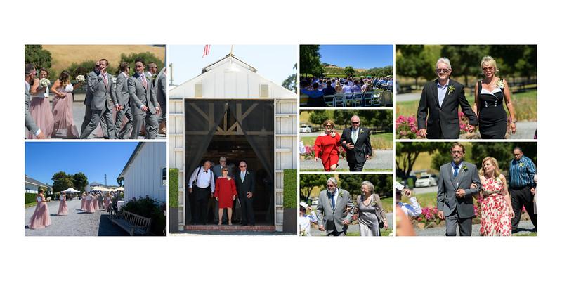 Beaumont Farms Petaluma Wedding Album Design - photos by Bay Area wedding photographer Chris Schmauch