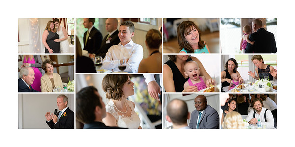 Candid Photos of Guests at the Reception