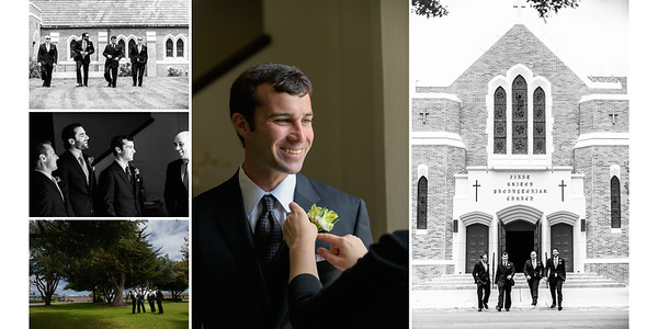 Groom Getting Ready at Church | Hanging with Groomsmen