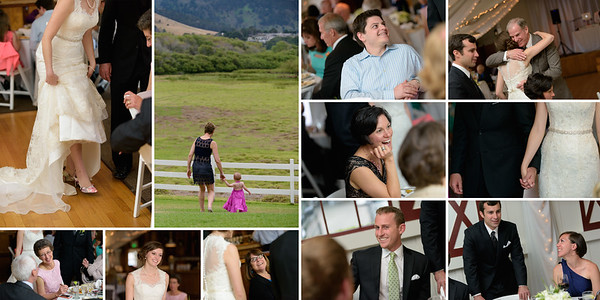 Candids of Bride and Groom Mingling at the Reception