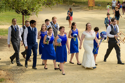 Julie and Peter's Roaring Camp Railroad wedding in Felton, California