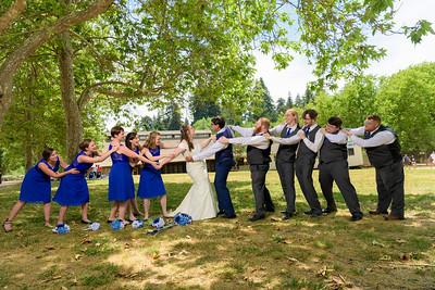 Julie and Peter's Roaring Camp Railroad wedding in Felton, California
