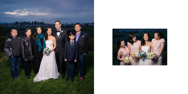 Best wedding photos taken at Crystal and Erin's wedding at The Bridges Golf Club in San Ramon, California.